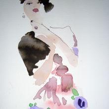 Paul Poiret Sorbet Dress