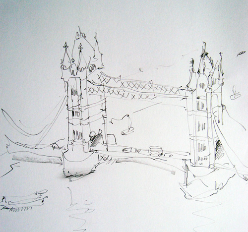 Sketch from The Shard