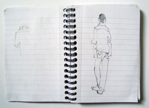 Sketching at The Other Art Fair