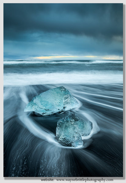 Ice Beach, Receding Tide 2