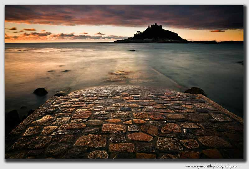St Michaels Mount Causeway at Dawn - CS7525