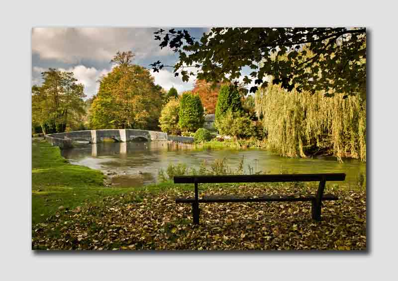 Ashford-in-the-Water in Autumn - PS086