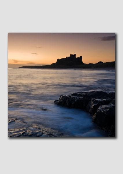 Bambrough Castle Dawn 2  - NS079