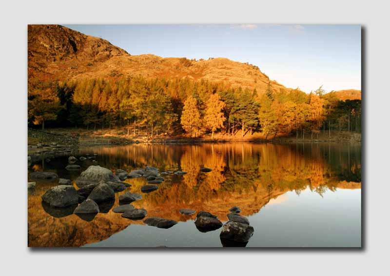 An Autumn Dawn on Blea Tarn - LS028