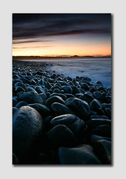 Boulders at Sunset  - NS065