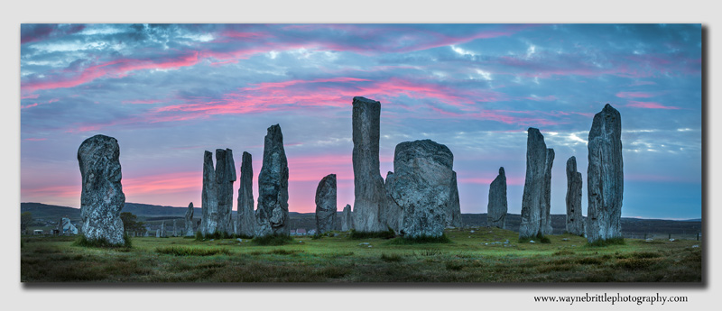 Calanish-Stones at Dawn-Panorama
