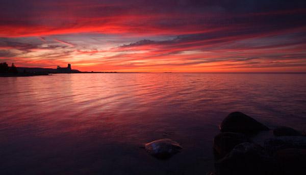 Sunset Point, Nottawasaga Bay - Ca003