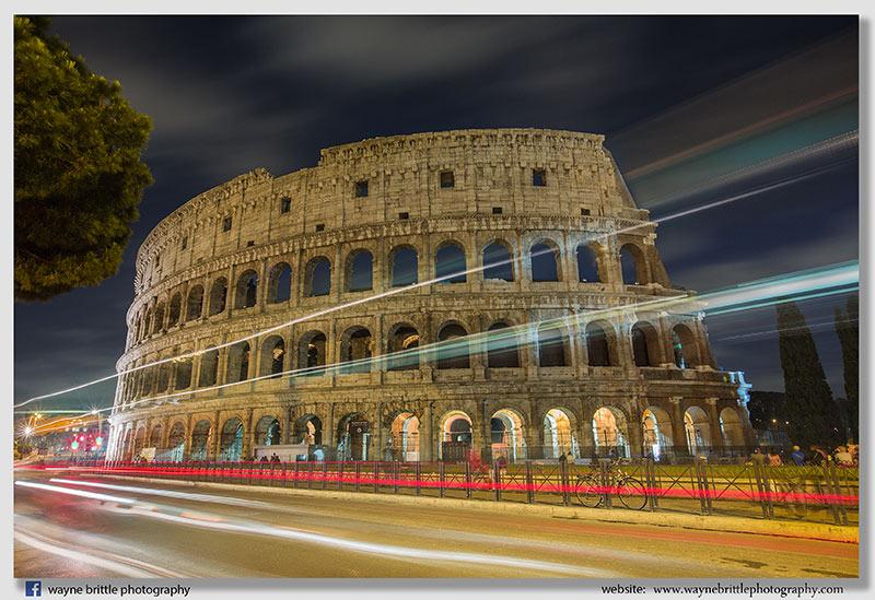 Colosseum Night Lights - W5D38160