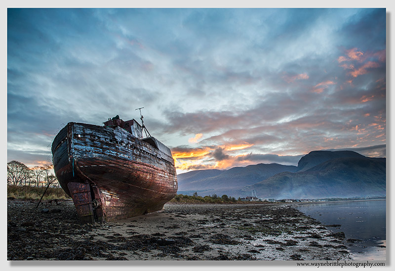 Corpach Morning