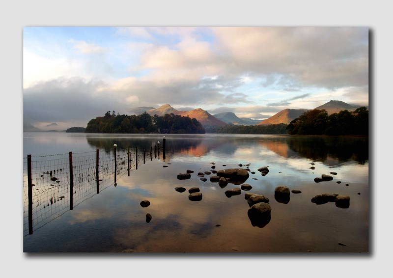Early Morning on Derwent Water  -  LS014