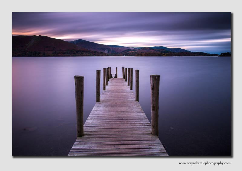 Derwentwater Jetty at Dusk - Cumbria - LSW5D31183