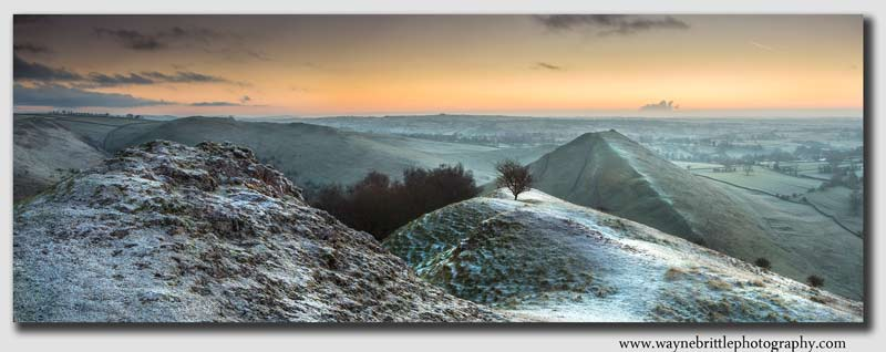 Dovedale Winter Panorama