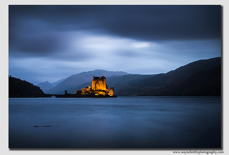 Eilian Donan Castle at dusk - 2 - W5D39634