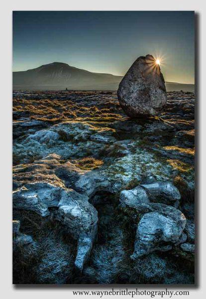 Erratic Boulder in the dawn light - W5D37747
