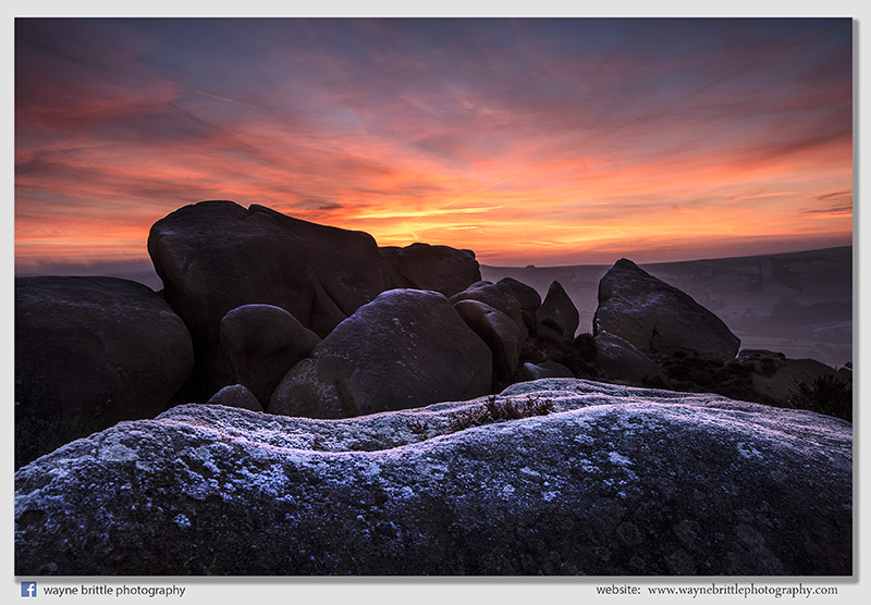 Frost, Rocks and the light of dawn 2