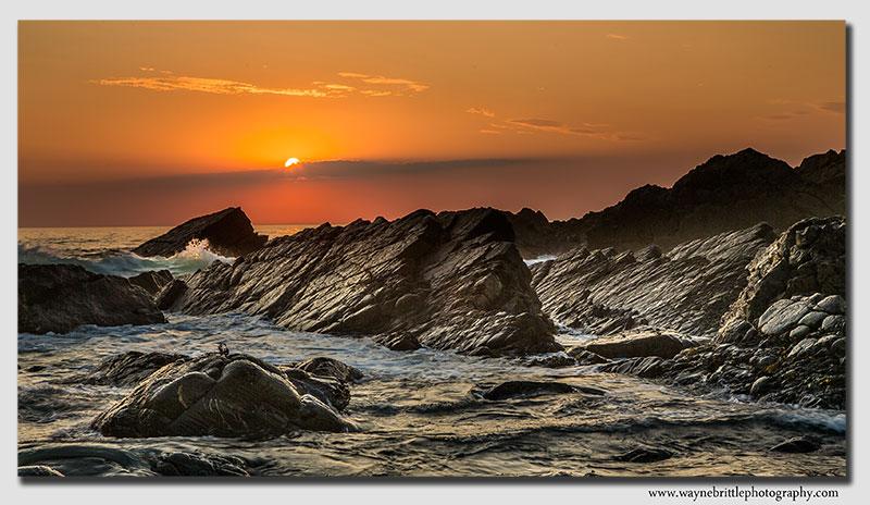 Hartland Sunset - W5D34943