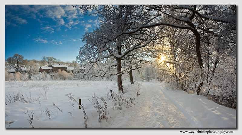 Holmhead Snow - Panorama