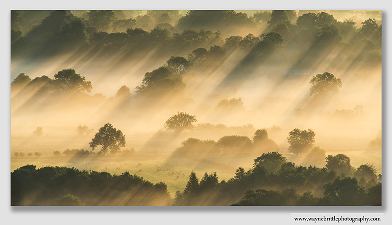 Hope Valley. Late Summer Mist  -  W5D32891