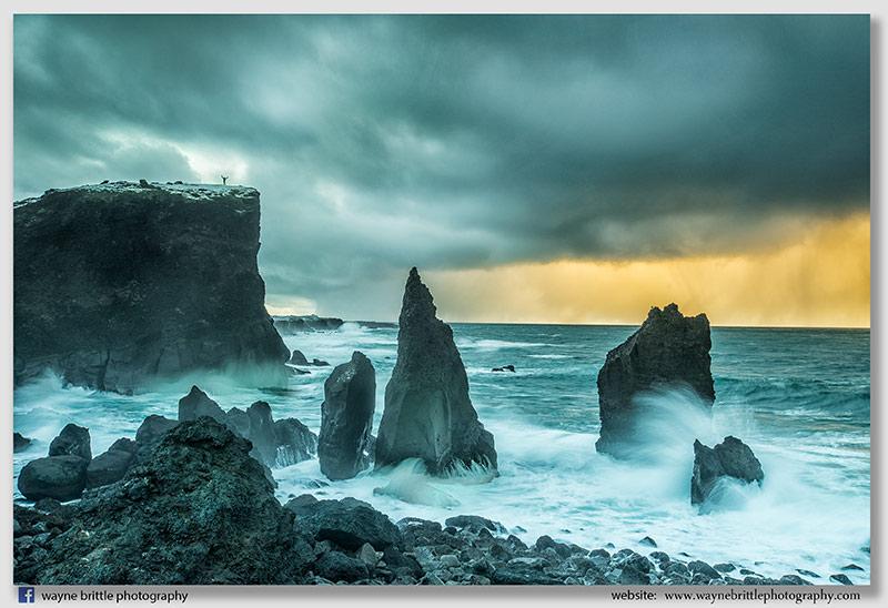 Reykjanes Sea Stacks