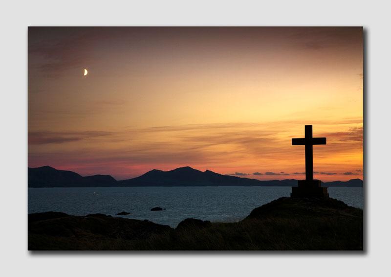 Llanddwyn Island Cross - WS049