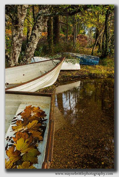 Loch Ness Boats in Autumn-Light-W5D39245