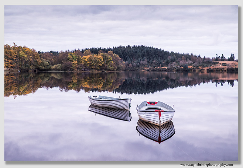 Loch Rusky Mirror Reflections