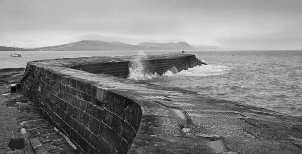 Lyme Regis 'The Cobb' - Dorset - DS110