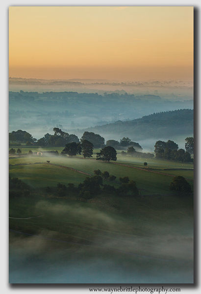 Mist in the Dovedale Valley - 8642