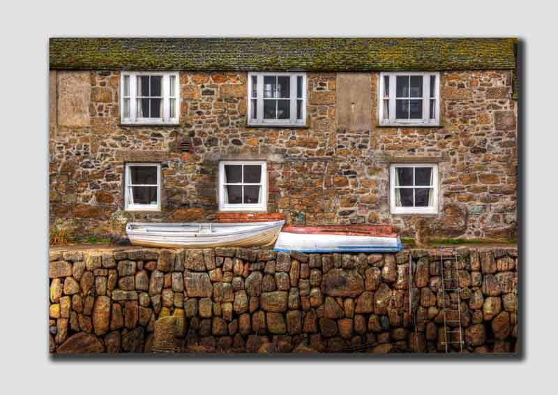 Mousehole Houses & Boats - HDR  - CS7283
