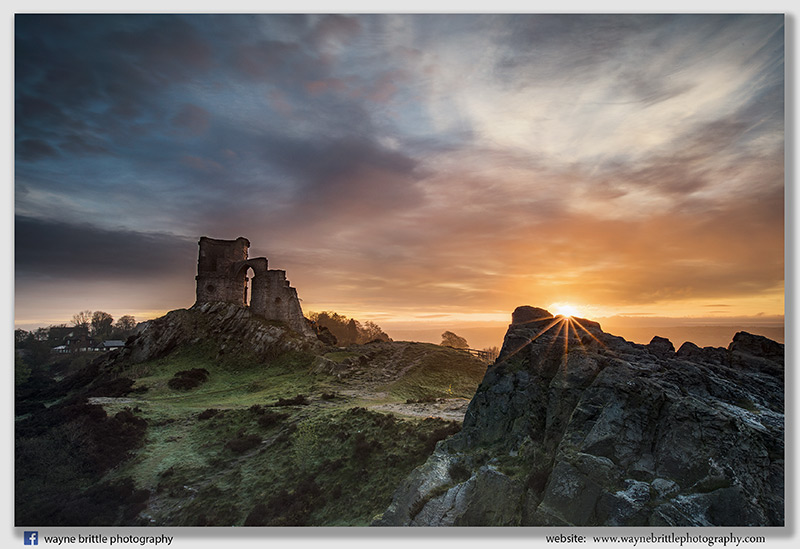 Mow Cop at Sunrise