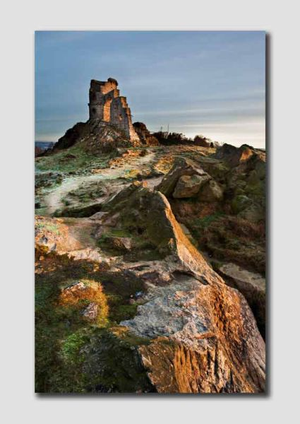 Mow Cop Castle, Winter Morning - 3 - SS3704