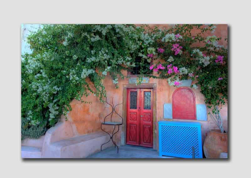 Santorini Doorway - SS6473