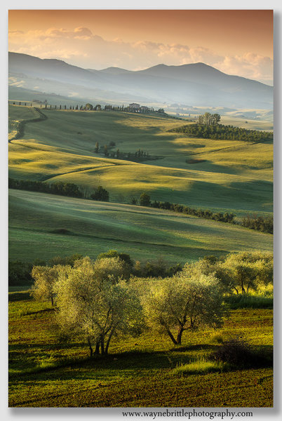 Val D'Orcia, Morning Light 2
