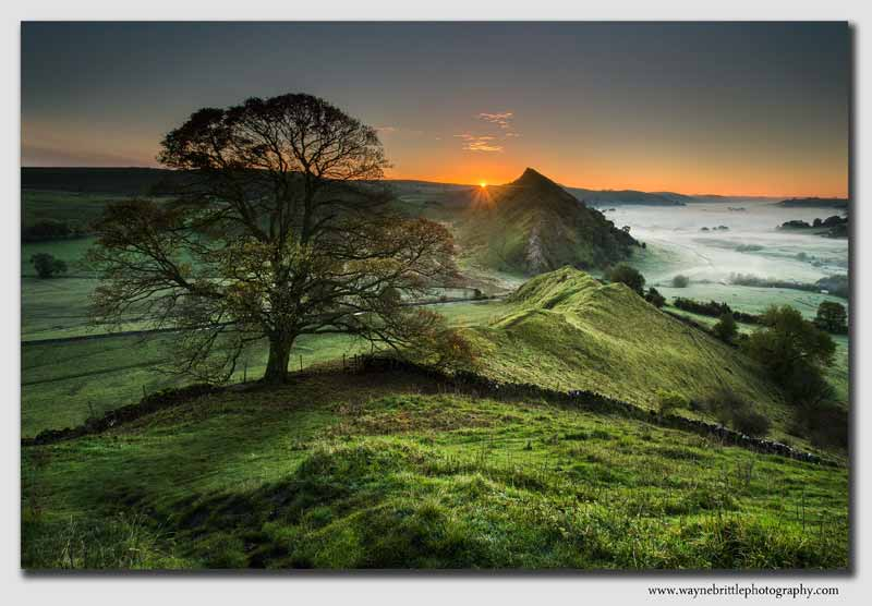 Parkhouse Hill at dawn - Peak District - SS0546