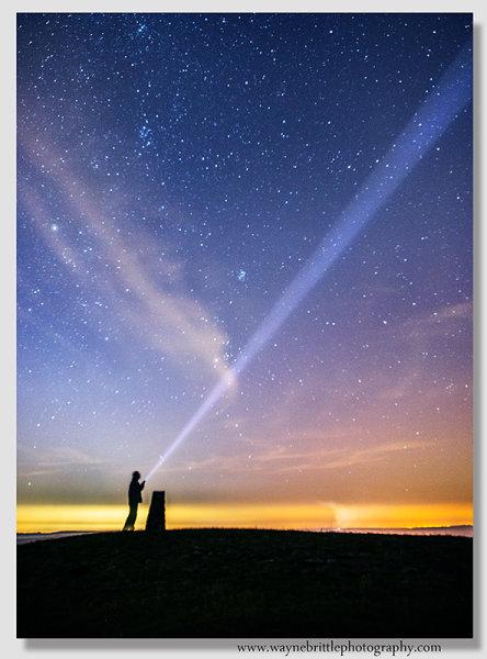Peak District Night Sky