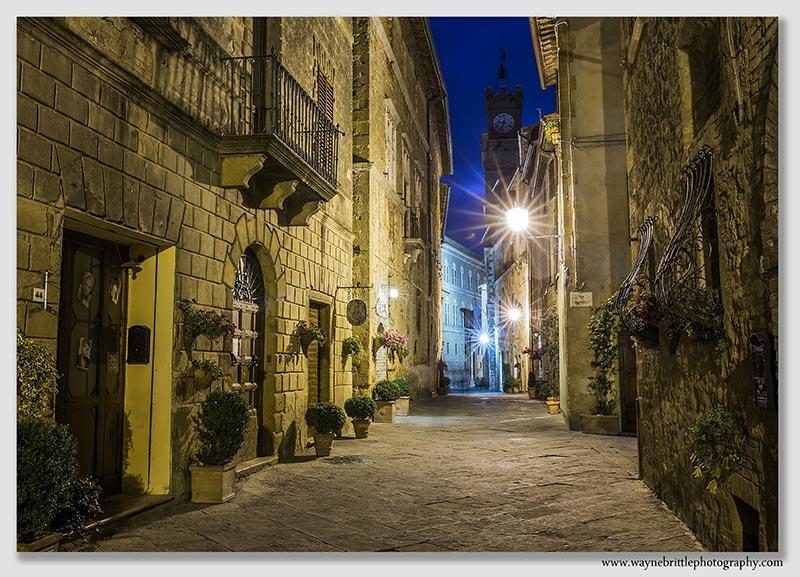 Pienza at Night - W5D38196