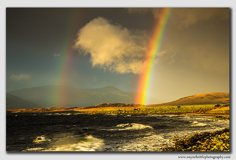 Rainbow on Loch Linnhe-2  -  W5D39243
