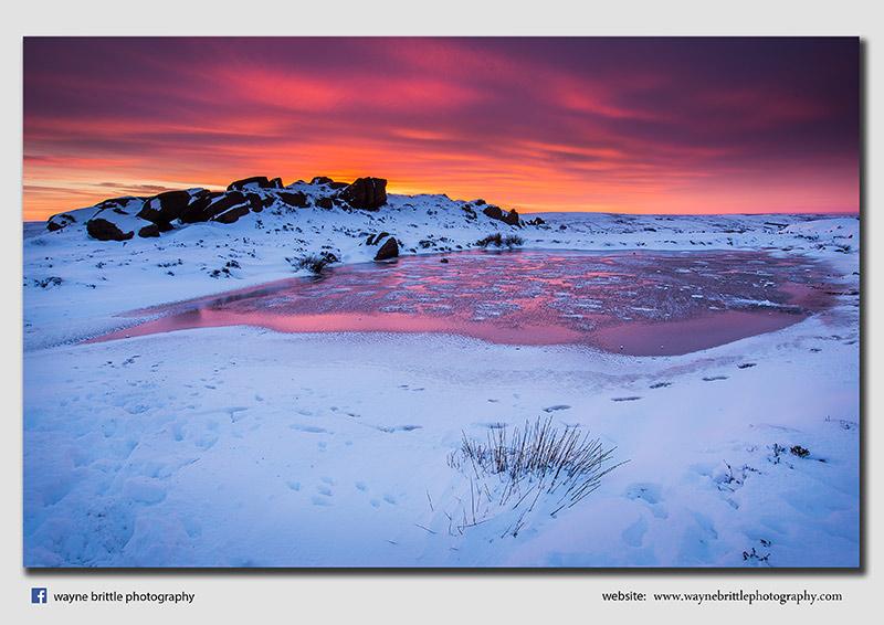 Roaches Pool, Winter Light - FA8X9113