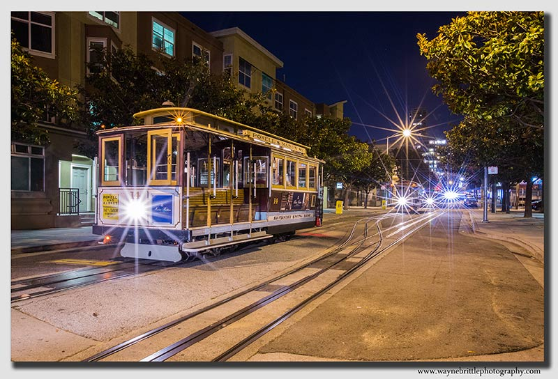 San Francisco Cable Car Nights - W5D36490