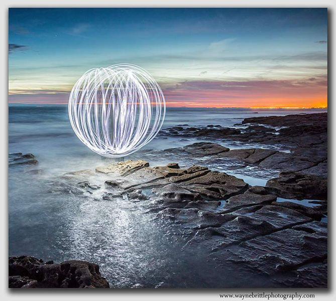 Seascape, Light Orb - W5D31994