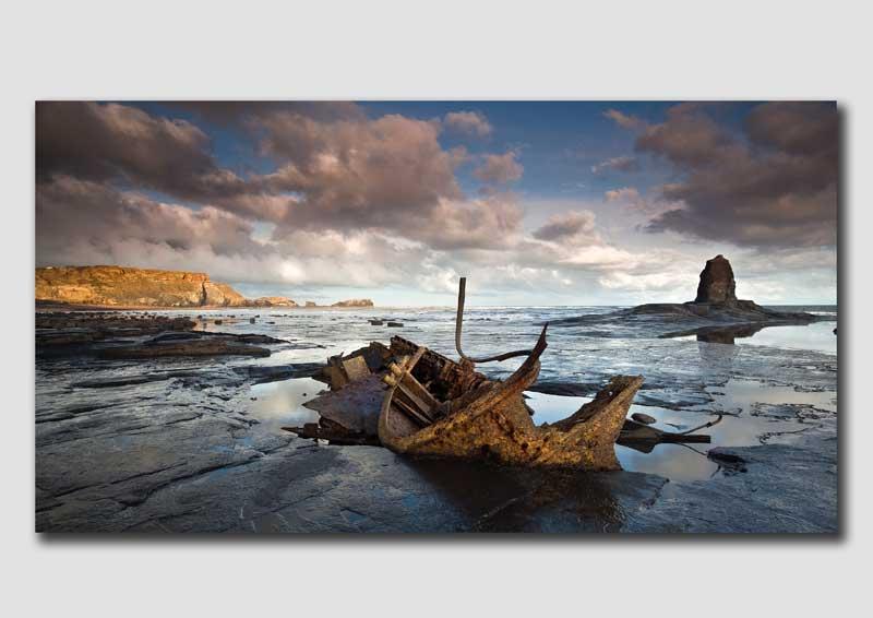 Shipwreck by the Nab - YS4239
