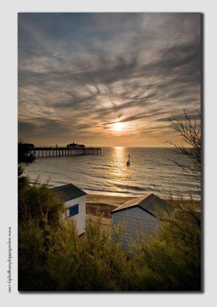 Beach Huts on the Suffolk Coast - SUF0723