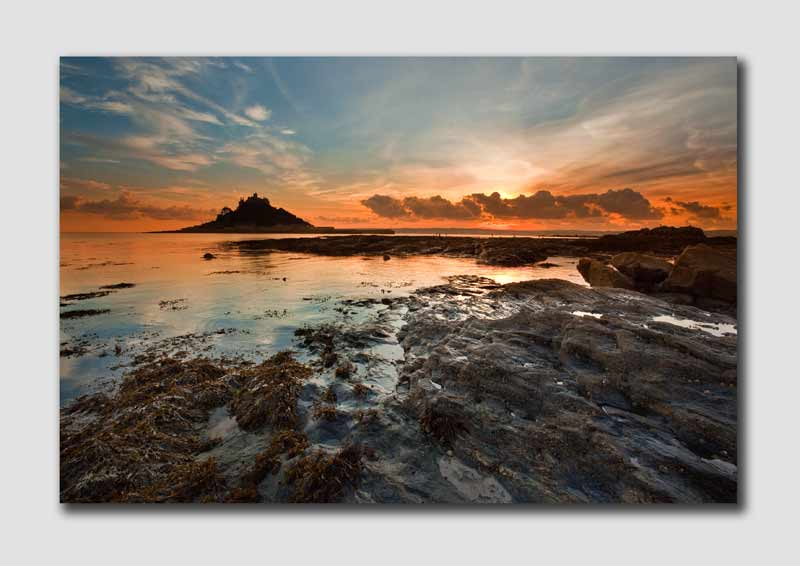 St Michaels Mount Sunset - CS7108