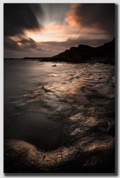Staffin Bay around dawn - IOS1817