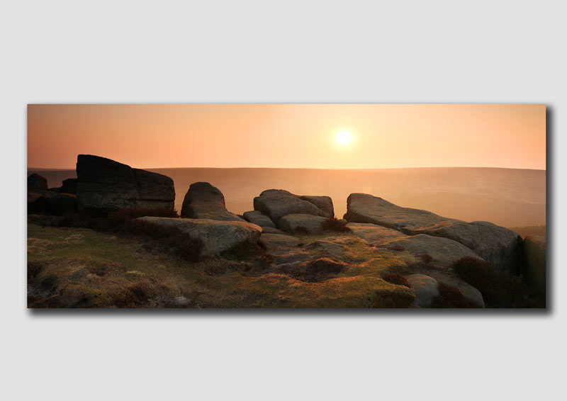 Sunrise from 'Higger Tor' - PP077 -  The Peak District