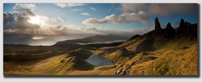 'Old Man of Storr' Panorama