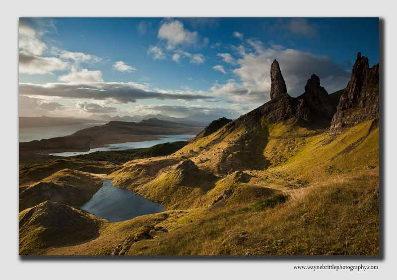 The 'Old Man of Storr' in the morning lightIOS2011