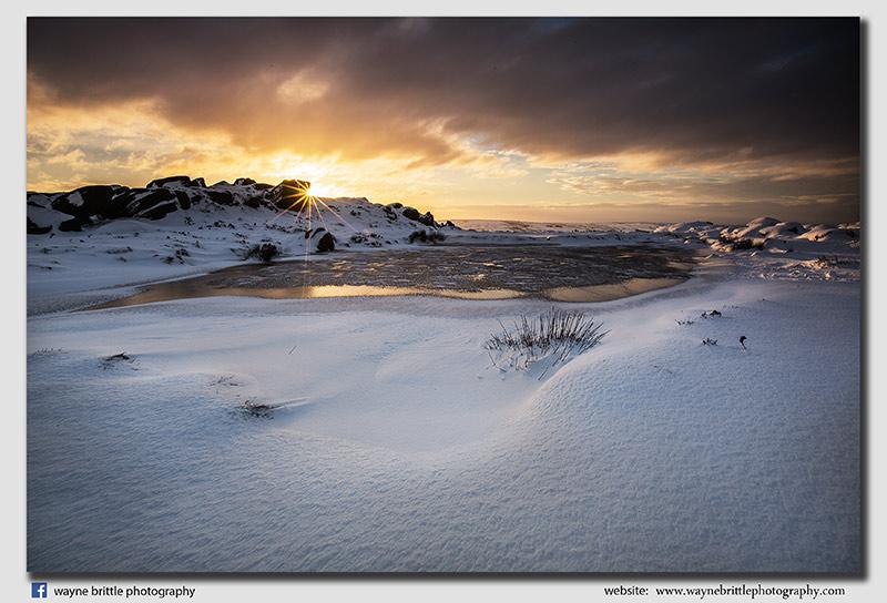 The Roaches Winter Sunlight - FX8A9015