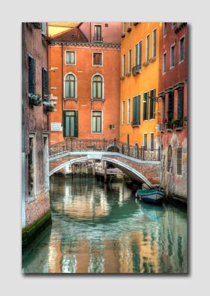 Venice Canal View - HDR - V5993