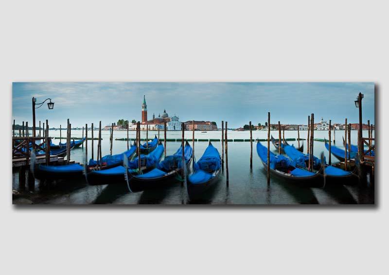 Venice Gondalas Panorama 4